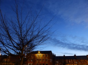 Dusk at Nottingham