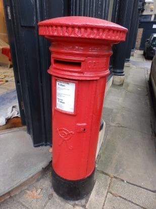 Victorian pillar box - Stamford