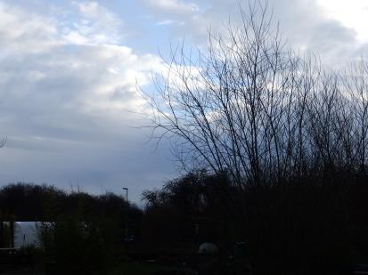 Sky over Nottingham