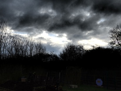 Sky over Wilford