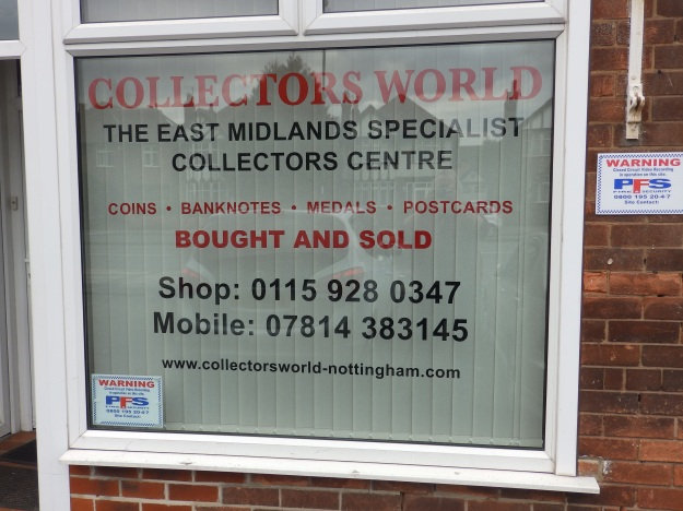Collectors World, Wollaton Road, Nottingham