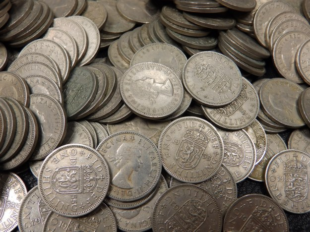 Shillings of Elizabeth II - English and Scottish varieties