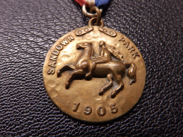 Sandown Park Racecourse Members' Pass 1905
