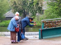 Photographer at Bakewell d