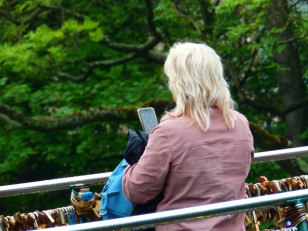Photographer at Bakewell f