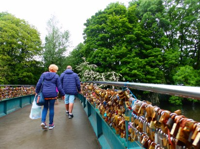 Love Locks at Bakewell