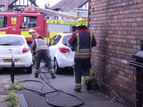 Firemen - Wollaton Road, Nottingham