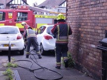 Firemen - Wollaton Road, Nottingham