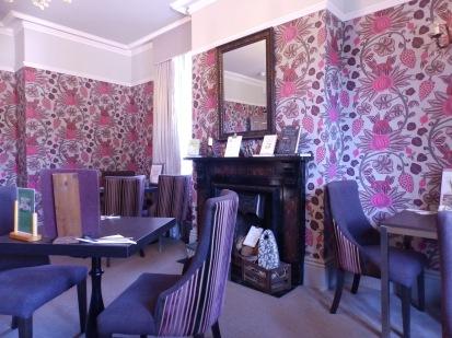 Tea room decor at Clumber Park, Nottinghamshire