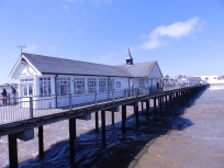 View from the end of Southwold Pier