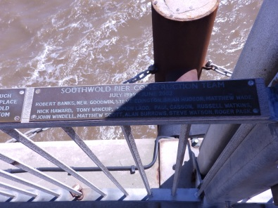 Plaque on Southwold Pier