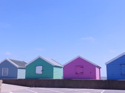 Beach Huts - Southwold