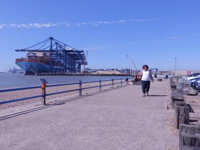 Landguard Point, Felixstowe