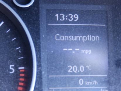 A1 near Grantham - 20 degrees C