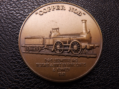 Railway Medallion