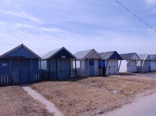 Beach huts Sutton on Sea