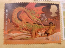 Hobbit Stamp