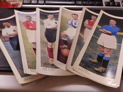 Topical Times coloured cards
