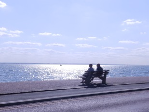 On the front at Southend