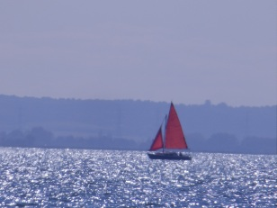 Sailing off Southend