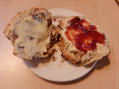 Scones at Minsmere