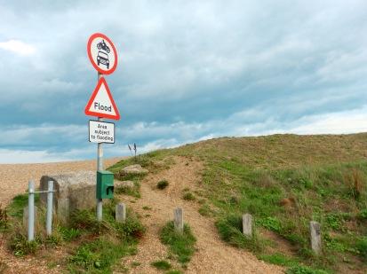 A flood sign - really?