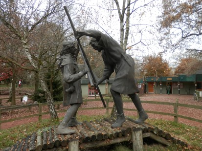 Sherwood Forest - Robin Hood and Little John