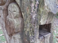 Owl carving - Sherwood Forest