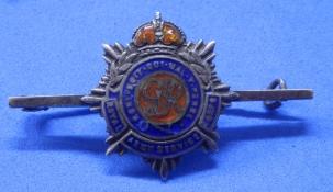RASC Silver bar brooch