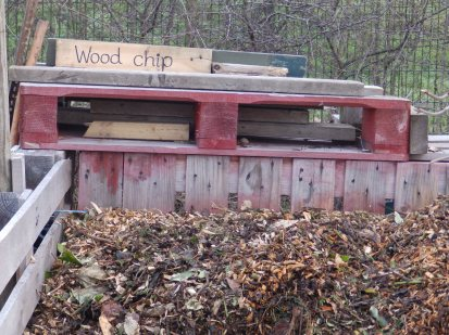 Wood chip at Wilford