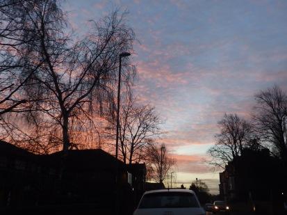 Sunrise, Sherwood Rise