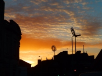Sunrise, Trent Bridge, Nottingham