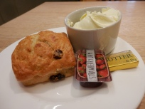 Cream Tea with plastic