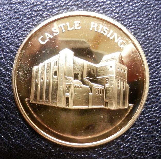 Souvenir Medal Castle Rising Norfolk