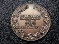 Magistrates' Court Medallion - Nottingham