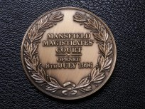 Magistrates' Court Medallion - Mansfield