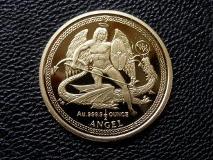 IOM Gold Half Angel