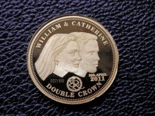 Gold coin - Tristan da Cunha