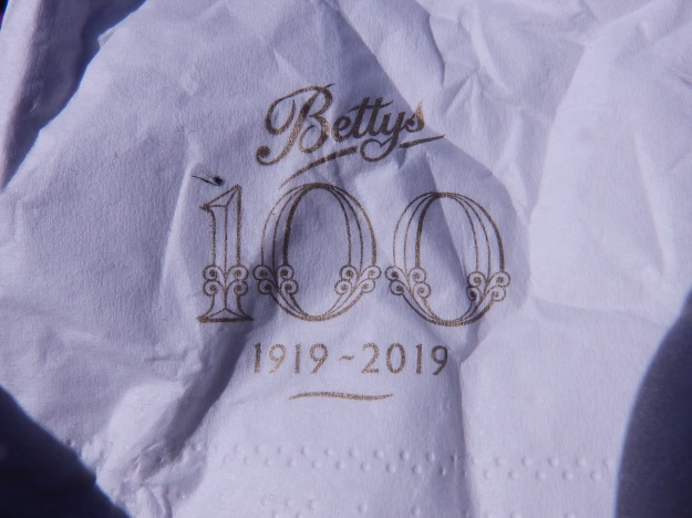 Bettys - 100 years this year