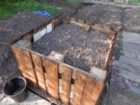 Raised bed at Mencap Garden