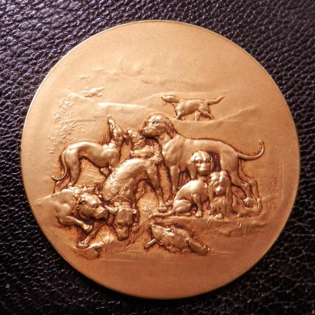 Dog Show Prize Medal