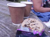 Tea and Eccles Cake
