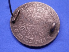 Half crown of Charles II