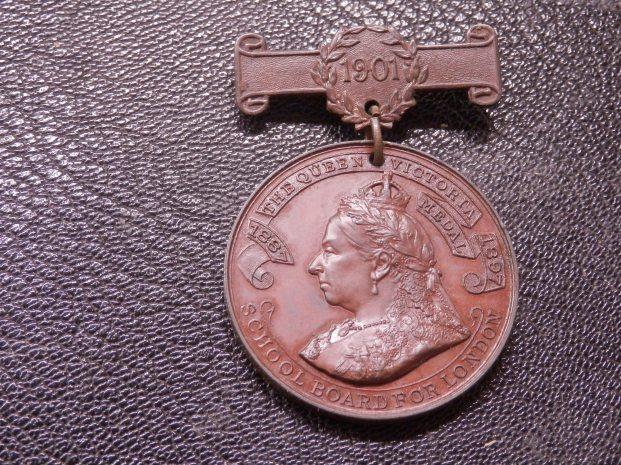 London School Attendance Medal