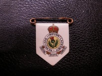 Royal Scots Greys Sweetheart Brooch