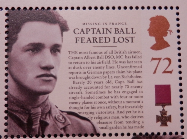Albert Ball VC - a Nottingham hero