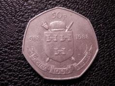 Irish 50p - 1988 Dublin