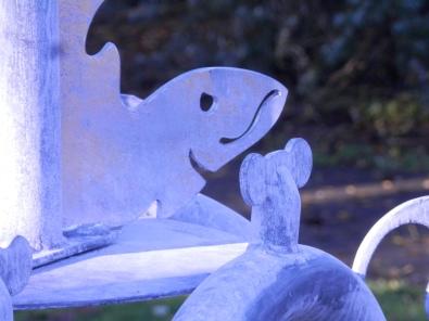 Fish - Hawksley Memorial - Arnot Hill Park