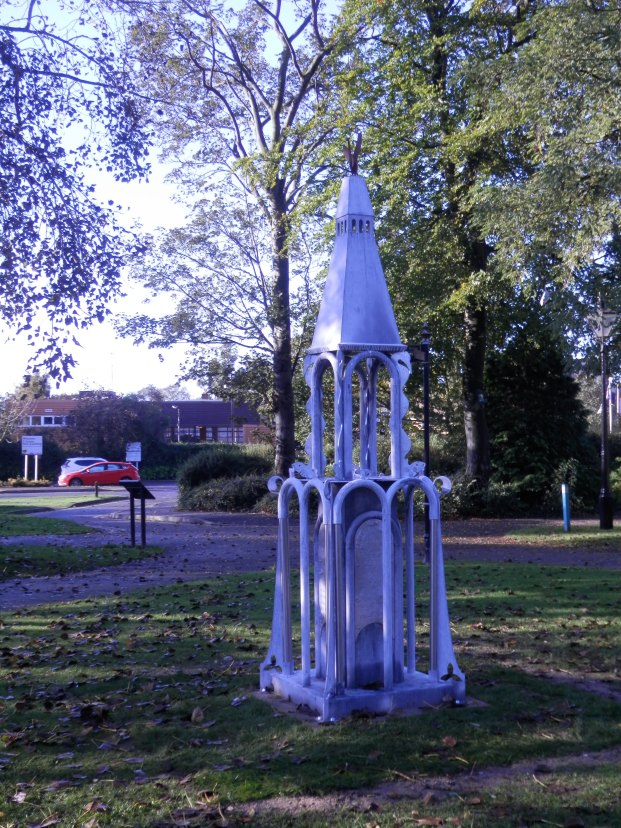Hawksley Memorial - Arnot Hill Park