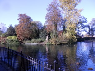 Arnot Hill Park - the Pond